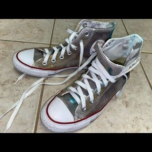 Tie Dyed converse - Size 7